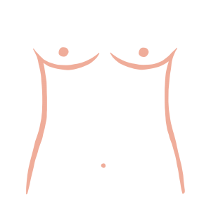 Athletic breast shape from ThirdLove's Breast Shape Dictionary
