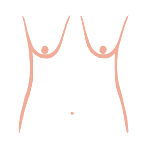 Sagging breast shape or relaxed breast shape from ThirdLove's Breast Shape Dictionary