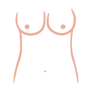 Round breast shape from ThirdLove's Breast Shape Dictionary